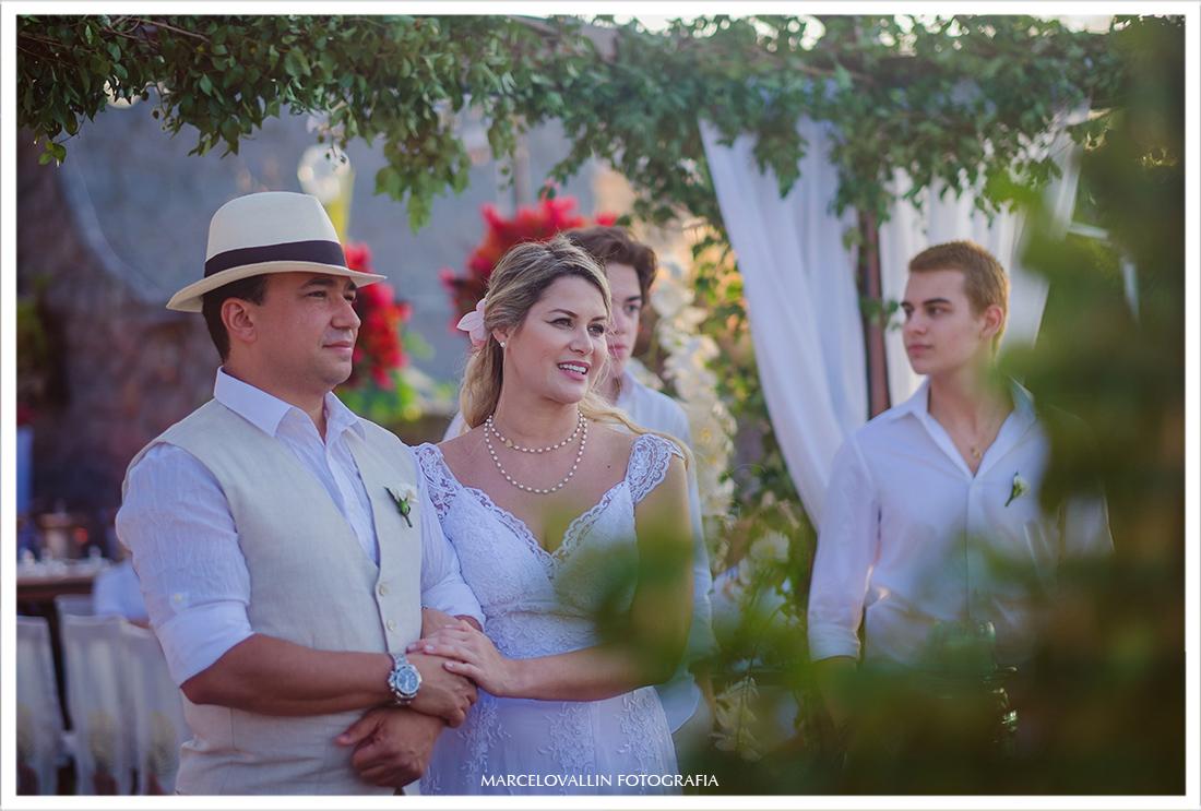 Cerimonia de casamento em Cabo Frio