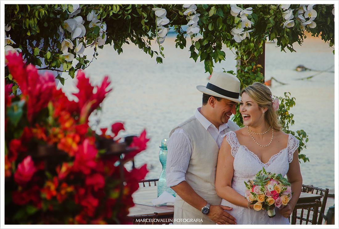 foto pós cerimonia de casamento