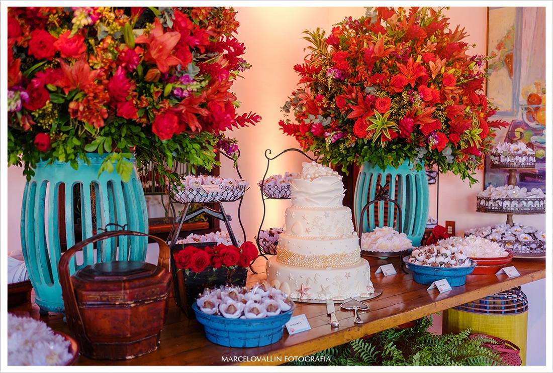 Bolo de casamento - home wedding