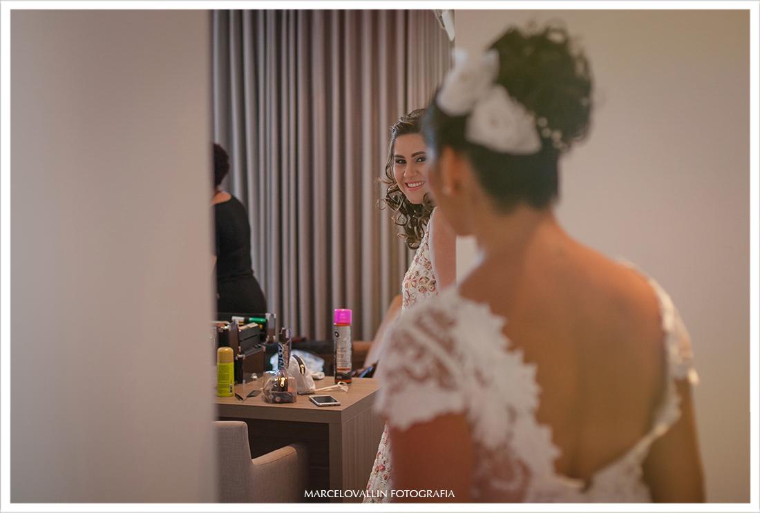 Foto de making of de noiva