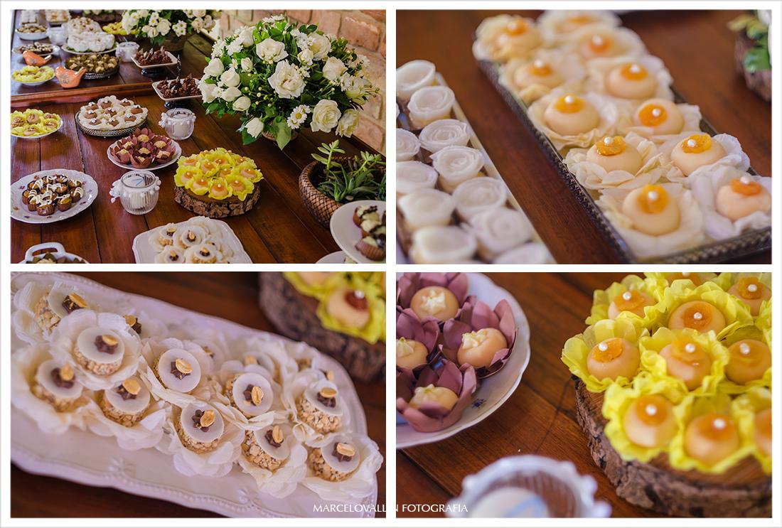 Foto de decoração casamento Sítio Veredas