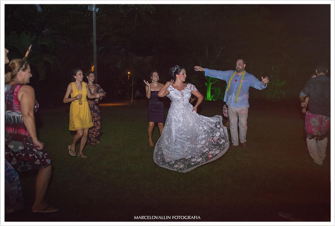 foto Noivos dançando em festa de casamento Sítio Veredas