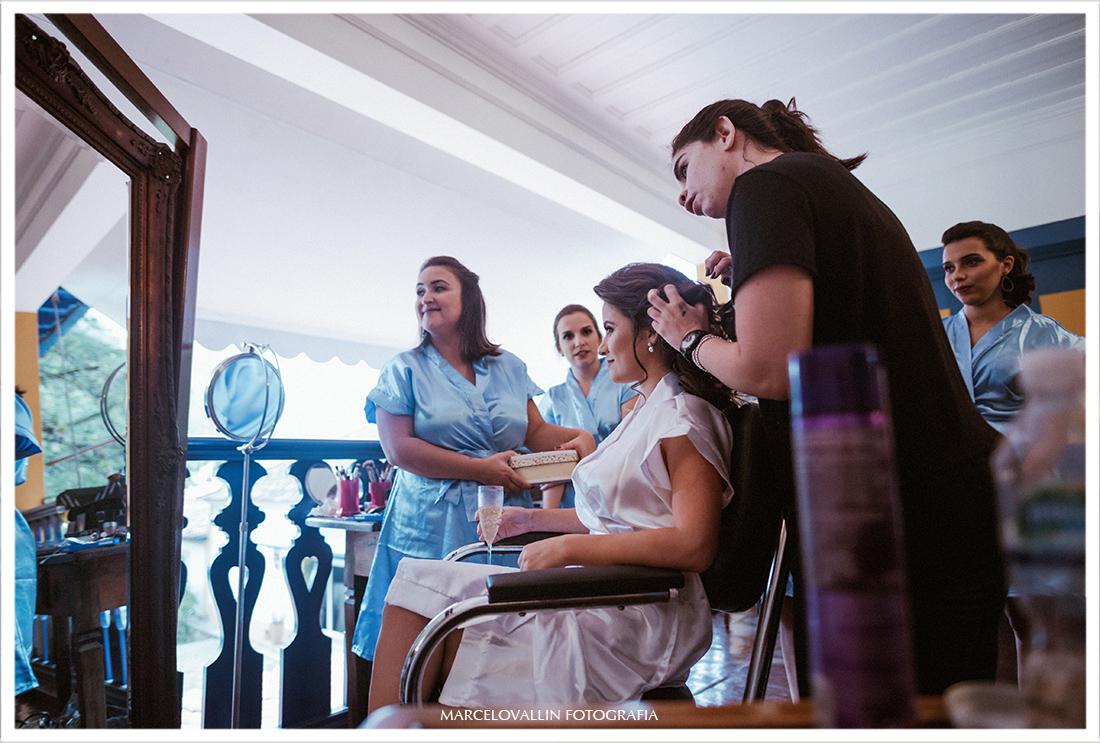 Fotografia de Casamento Petrópolis - produção da Noiva