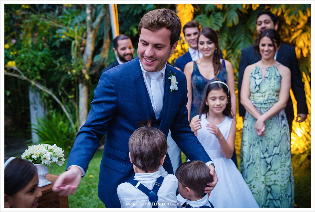 Fotografia de Casamento Petrópolis - Cerimonia de casamento Pousada Vila Brasil