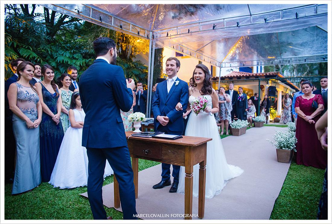 Fotografia de Casamento ao ar livre Petrópolis - Pousada Vila Brasil