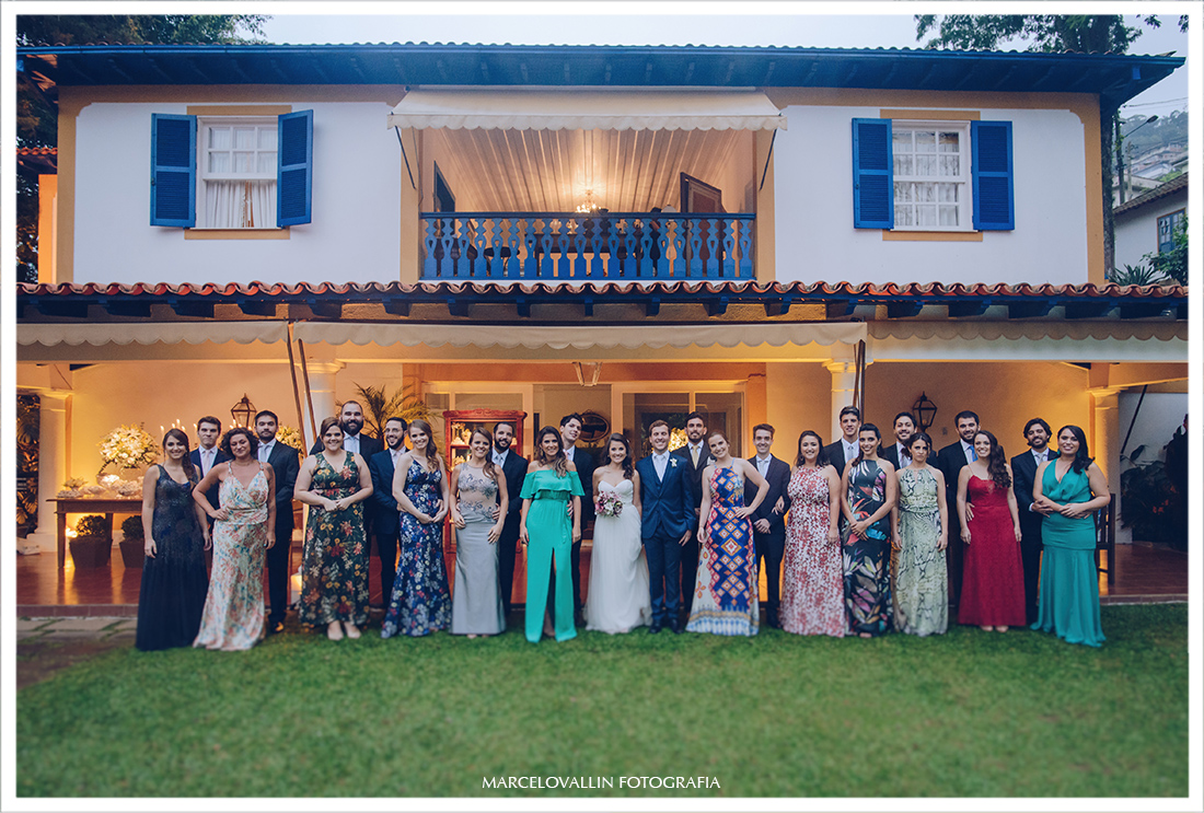 Fotografia Casamento em Petrópolis - Foto dos Padrinhos