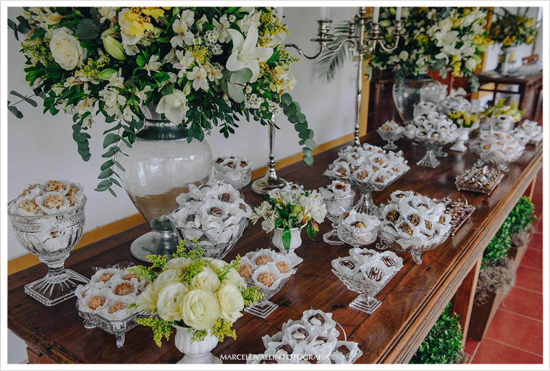 Foto de decoração casamento Pousada Vila Brasil
