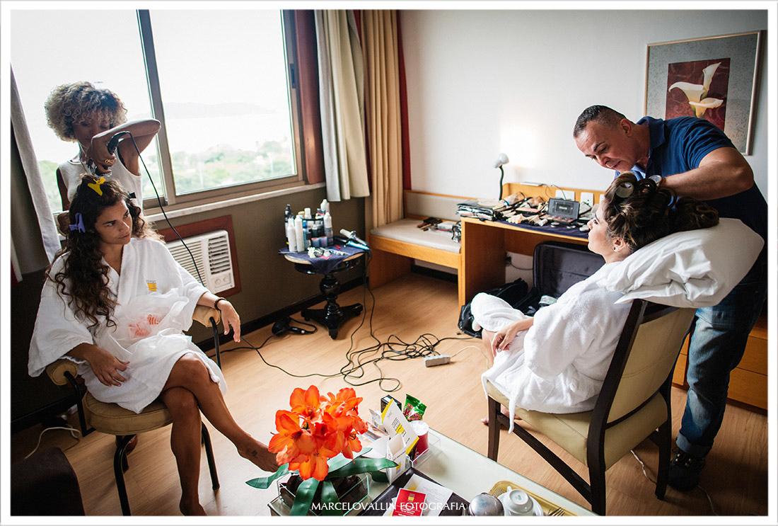 Fotografia de making of da noiva hotel novo mundo - Fotografia de Casamento Capela Real RJ