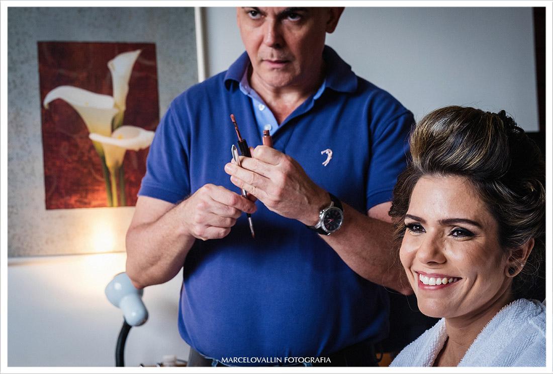 Fotografia de Casamento - Making of da noiva Hotel novo Mundo