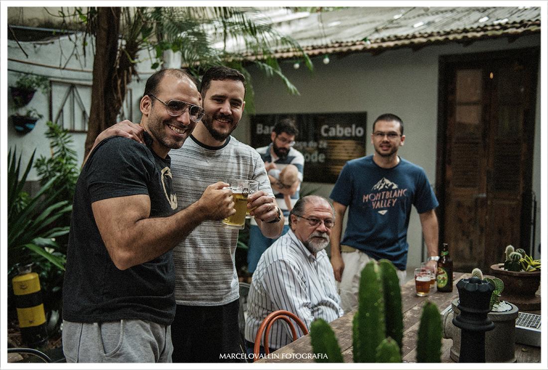 Foto do Making of noivo Barbearia do zé - Botafogo RJ