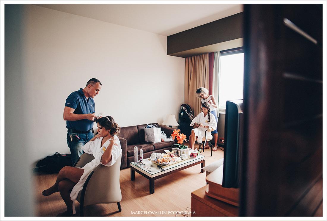 Fotografia de Casamento - Making of da noiva Hotel novo Mundo RJ