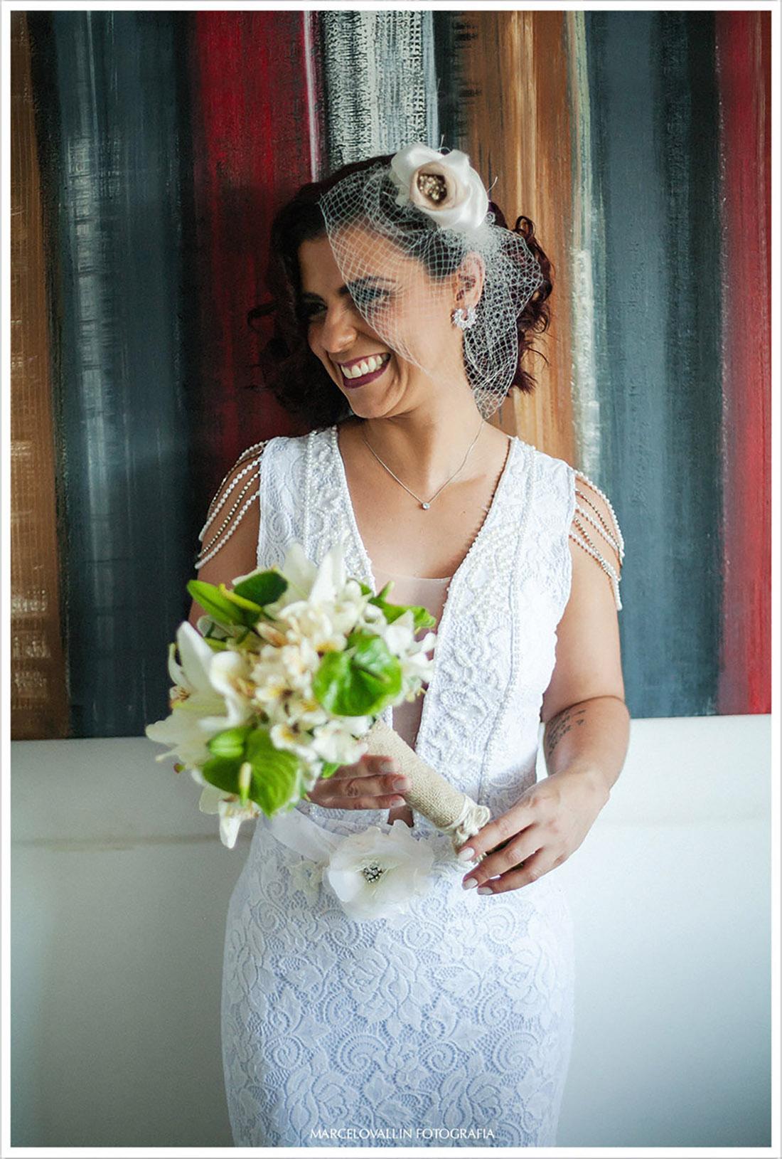 Foto da Noiva pronta - Mini Wedding rj