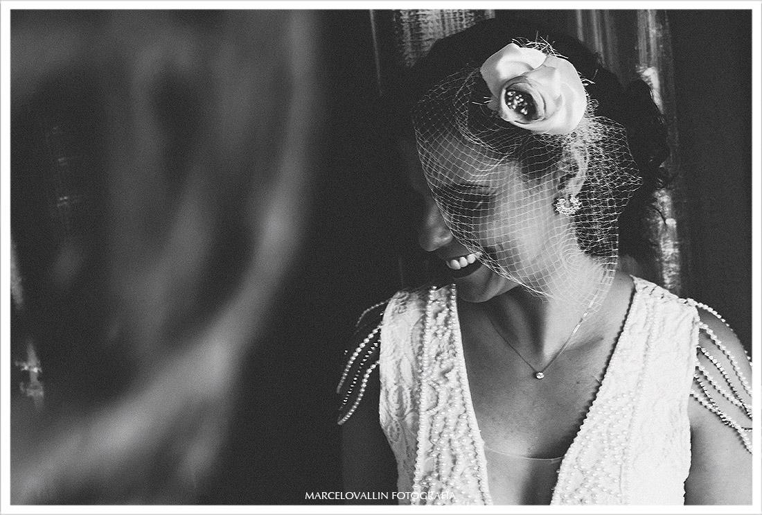 Fotografia da Noiva pronta - Mini Wedding rj
