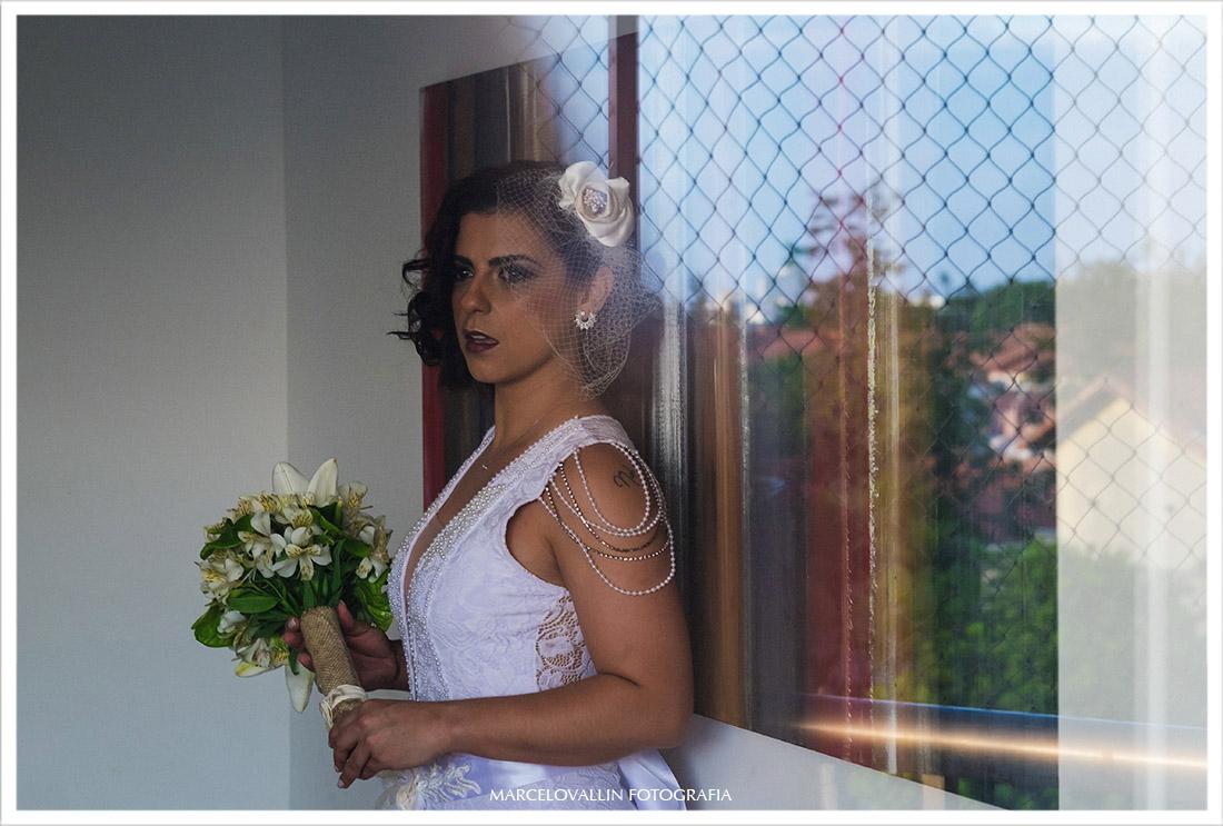 Foto de casamento - sessão de fotos da noiva pronta