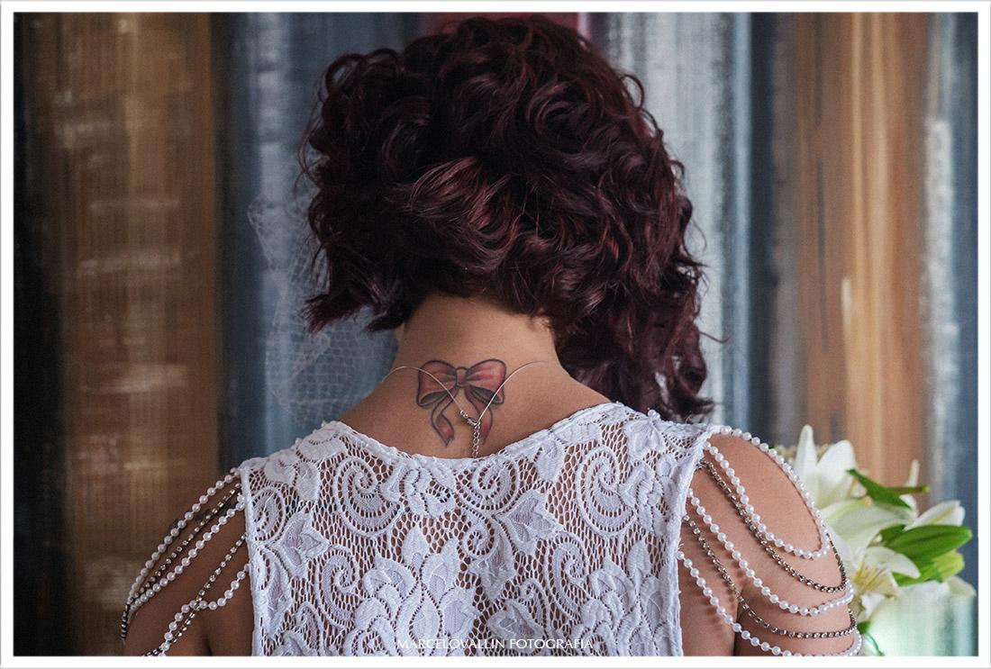 Foto da tatuagem da Noiva - Mini Wedding