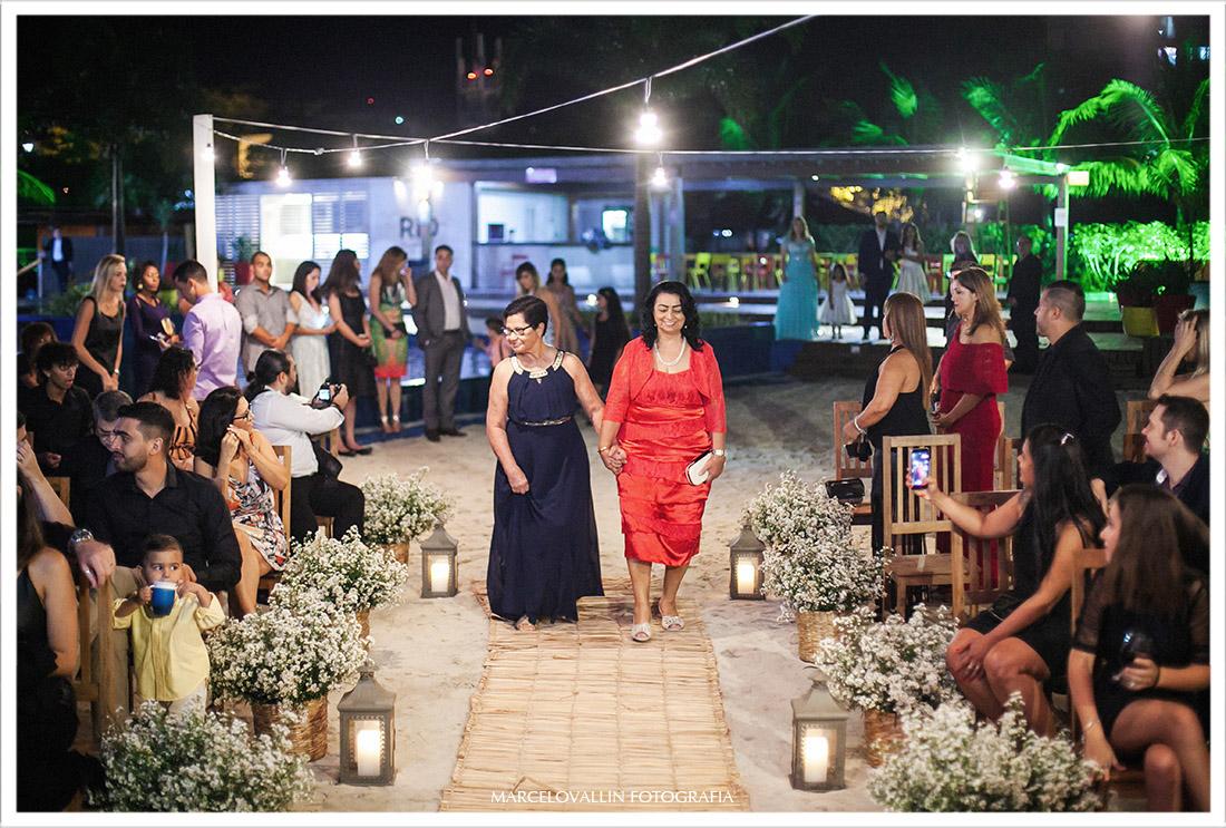 Fotografia da cerimonia Mini Wedding Clube Naília Eventos