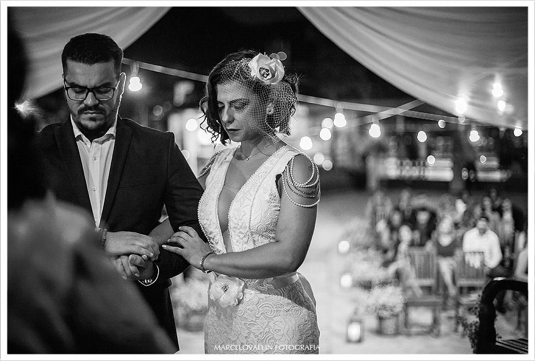 Foto de cerimonia de casamento clube Nailia eventos