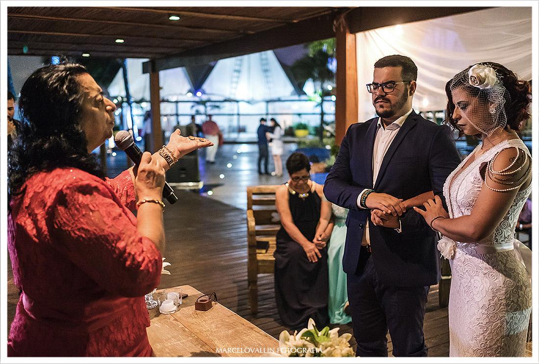 Foto de cerimonia de Mini Wedding clube Nailia eventos rj