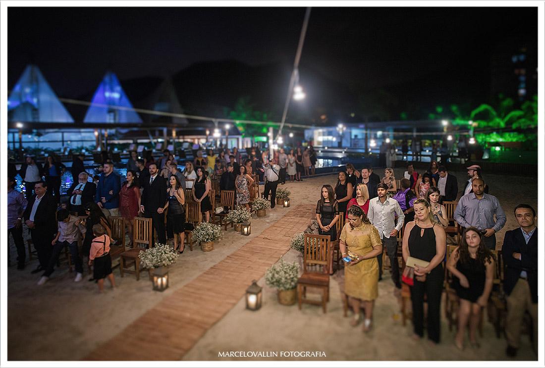 Fotografia de convidados casamento clube Naília Eventos RJ