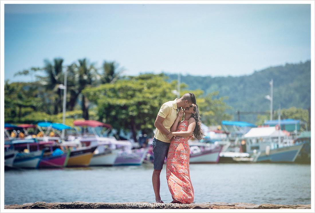 Ensaio Pré Wedding Paraty - Larissa e Caio