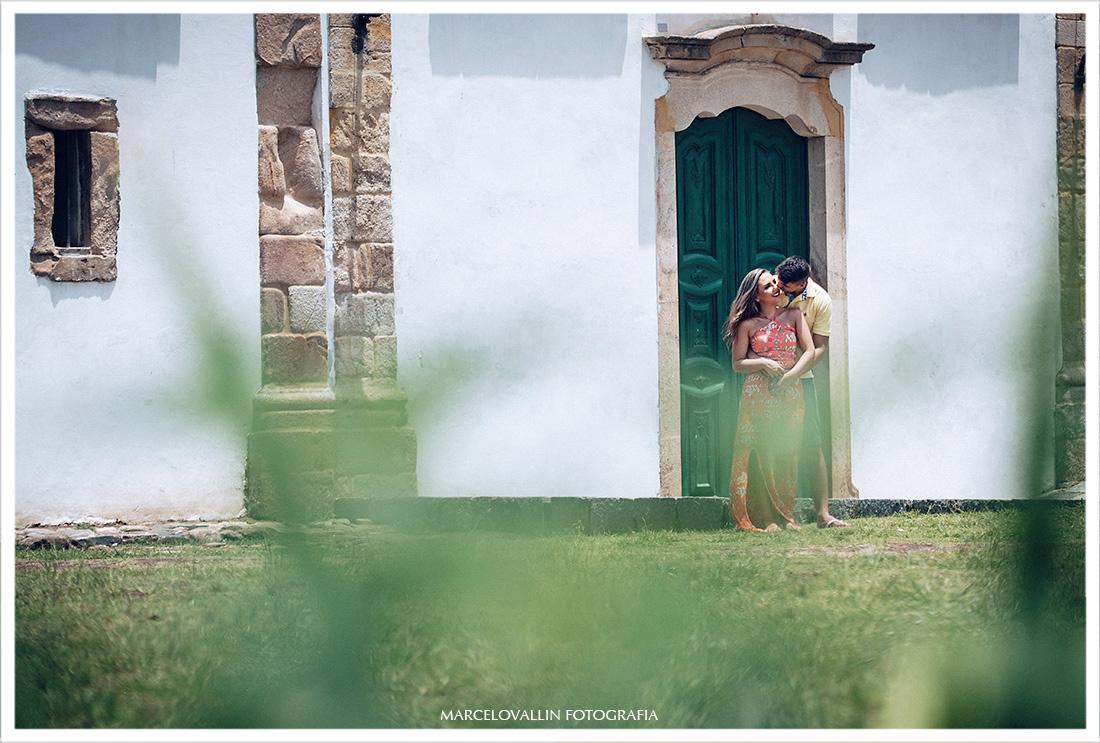 Ensaio Pré Wedding Igreja de Paraty - Larissa e Caio