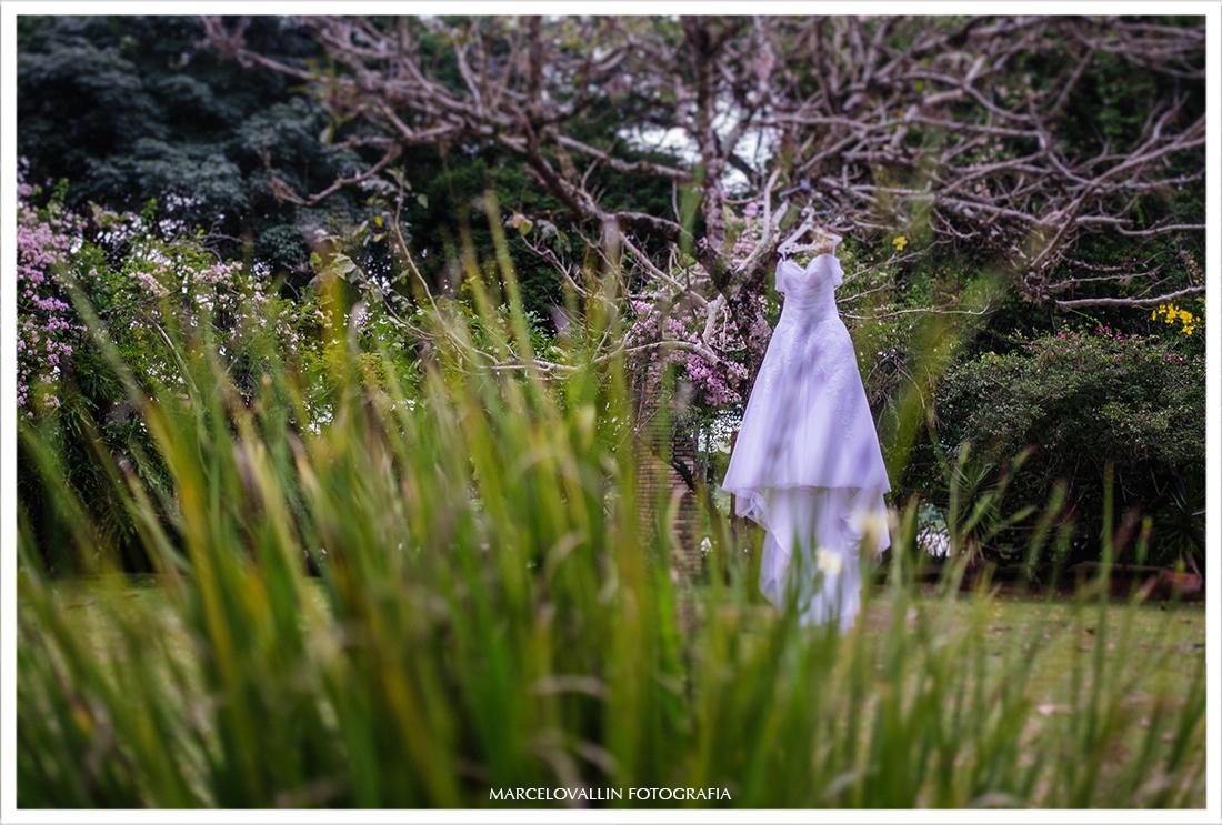 Casamento no campo - Vestido de noiva