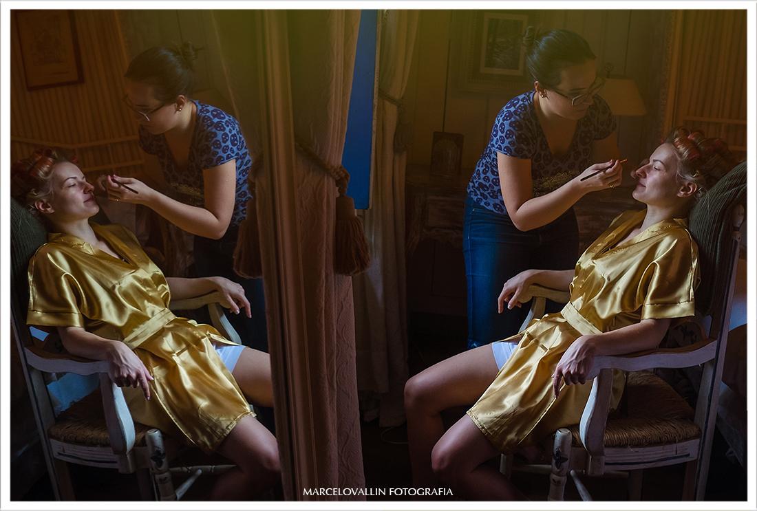 Casamento no campo - Making of noiva