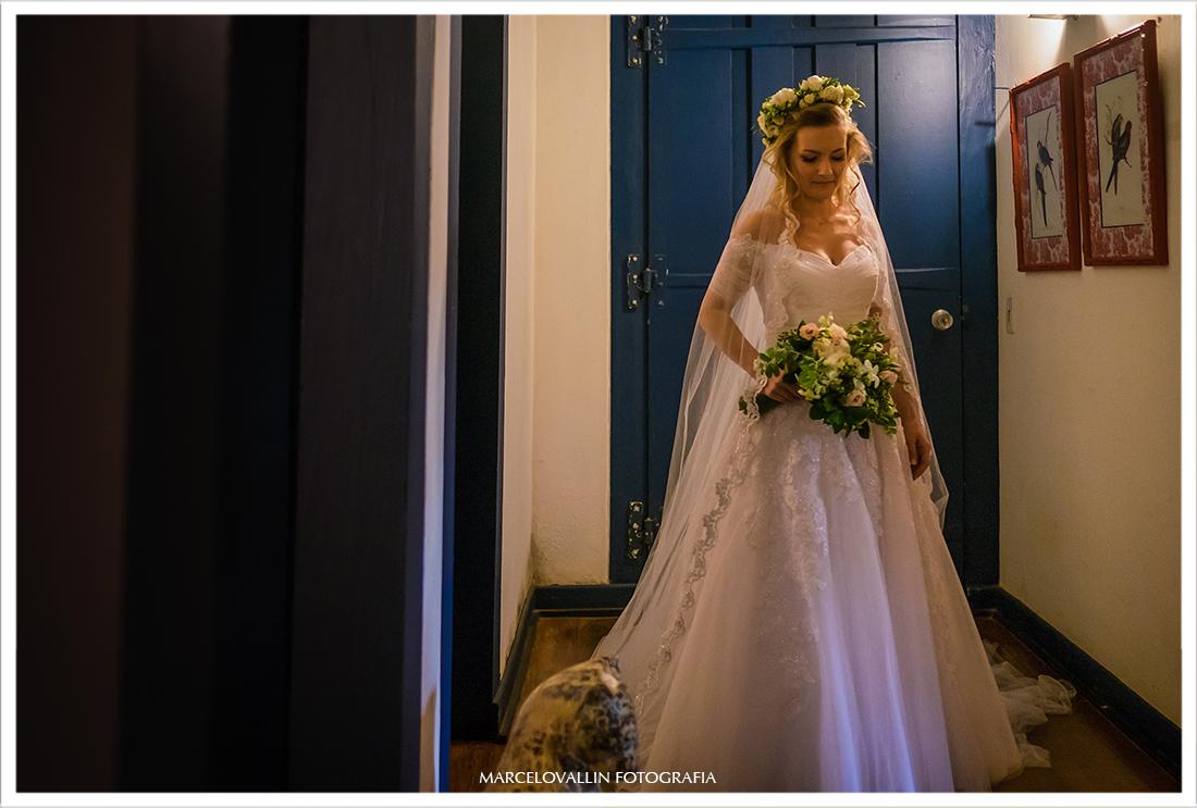 Foto da noiva pronta para casar