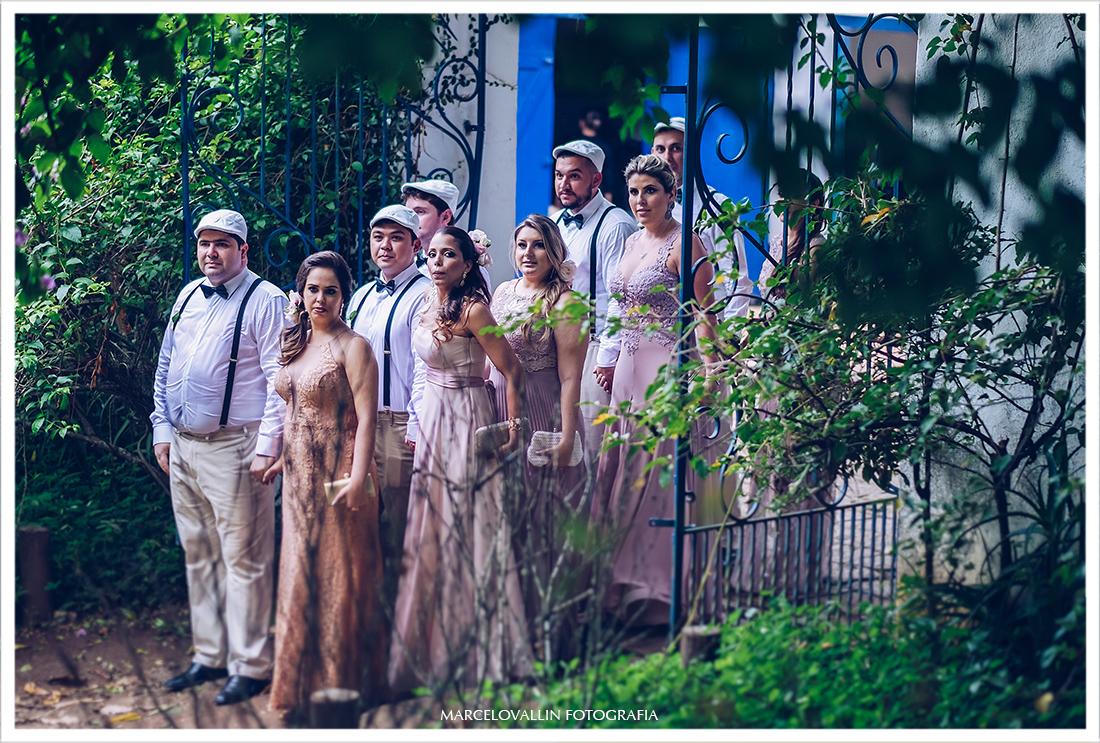 Casamento no campo - Padrinhos