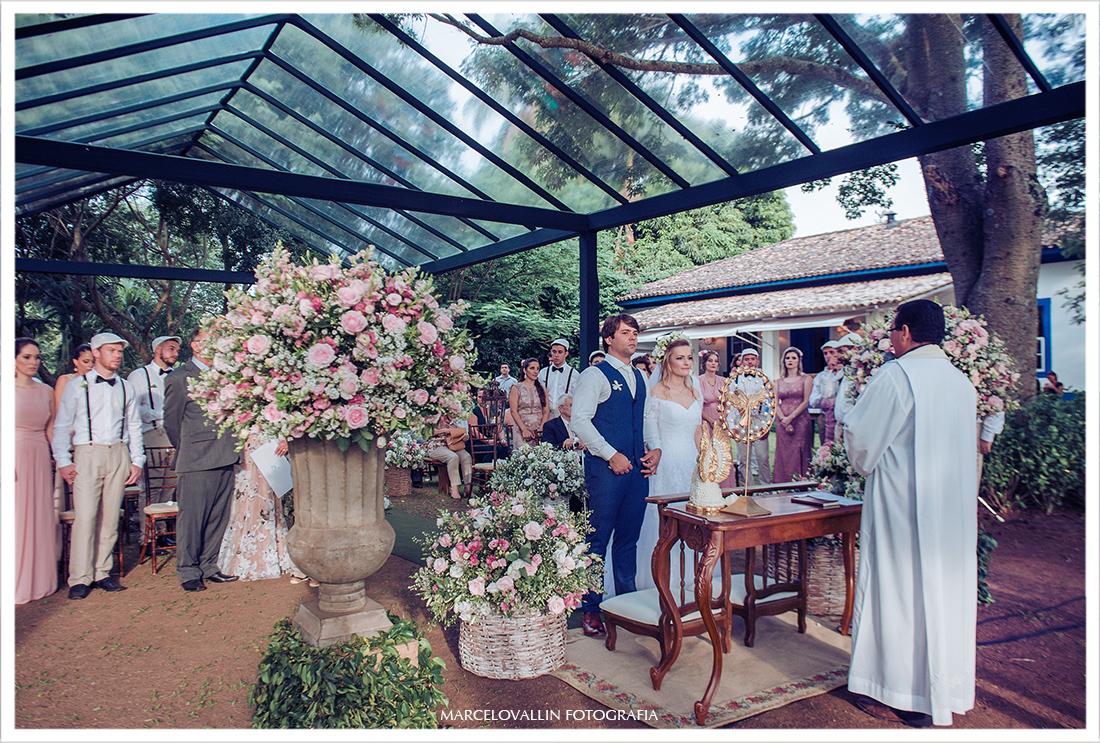 Casamento ao ar livre - Campinas