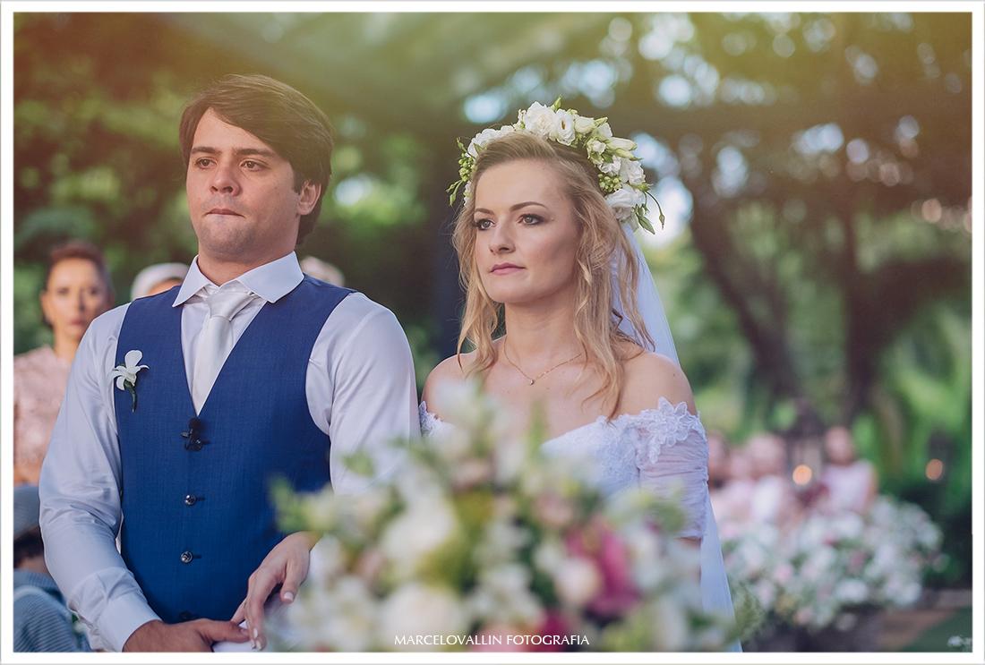 Casamento com luz natural