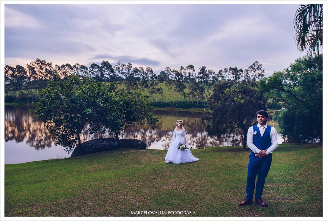 fotografia de Ensaio pós casamento ao ar livre