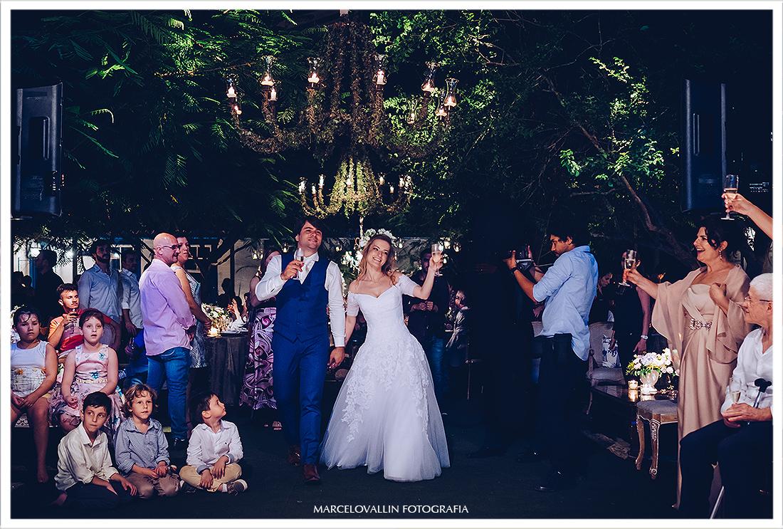 Foto de festa de casamento no campo