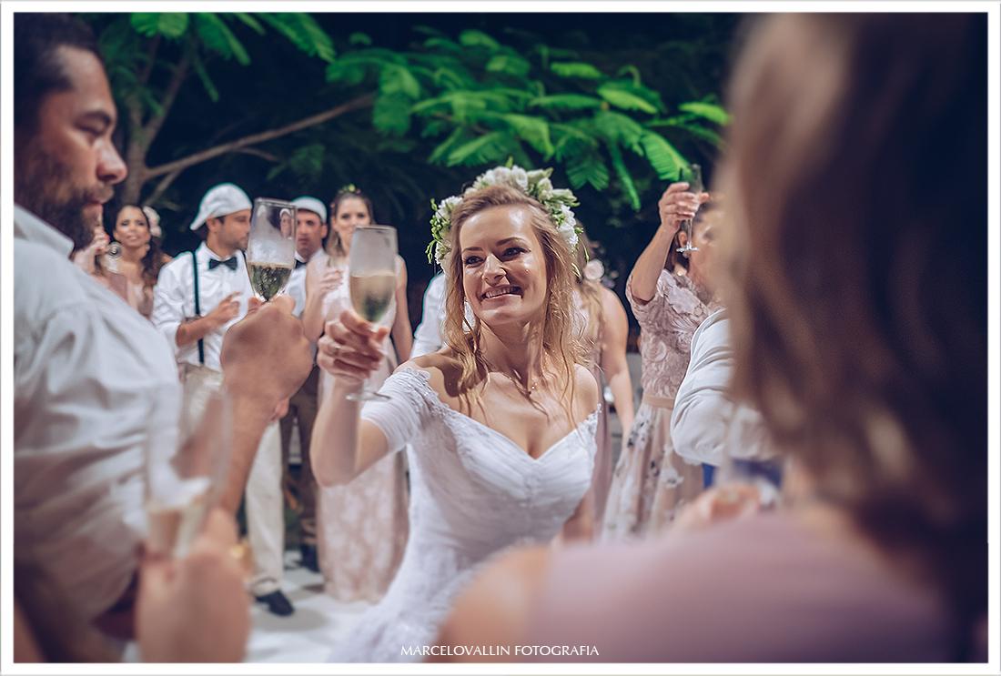 Foto de noiva em festa de casamento