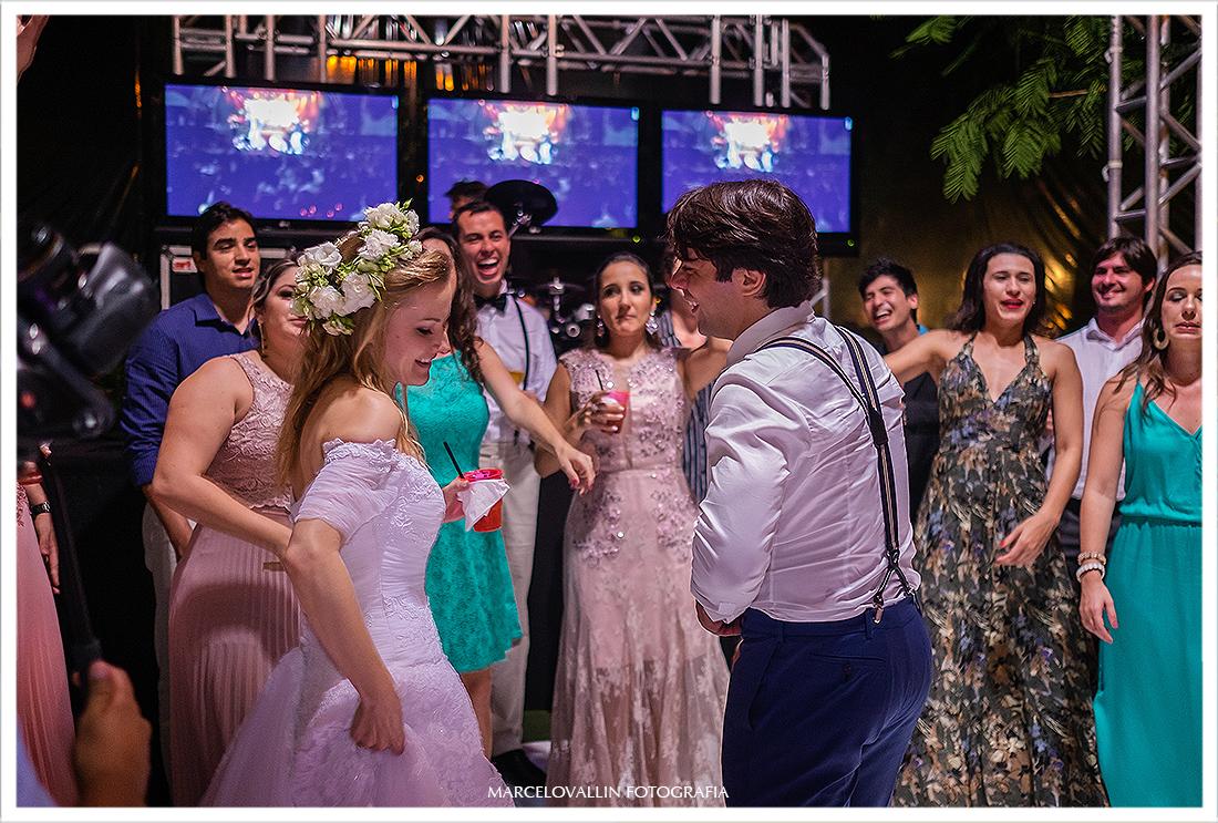festa de casamento no campo