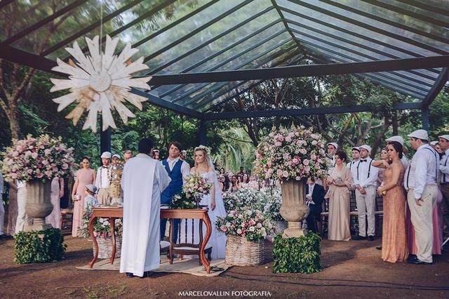 Casamentos de Casamento no campo | Helo & Vitor