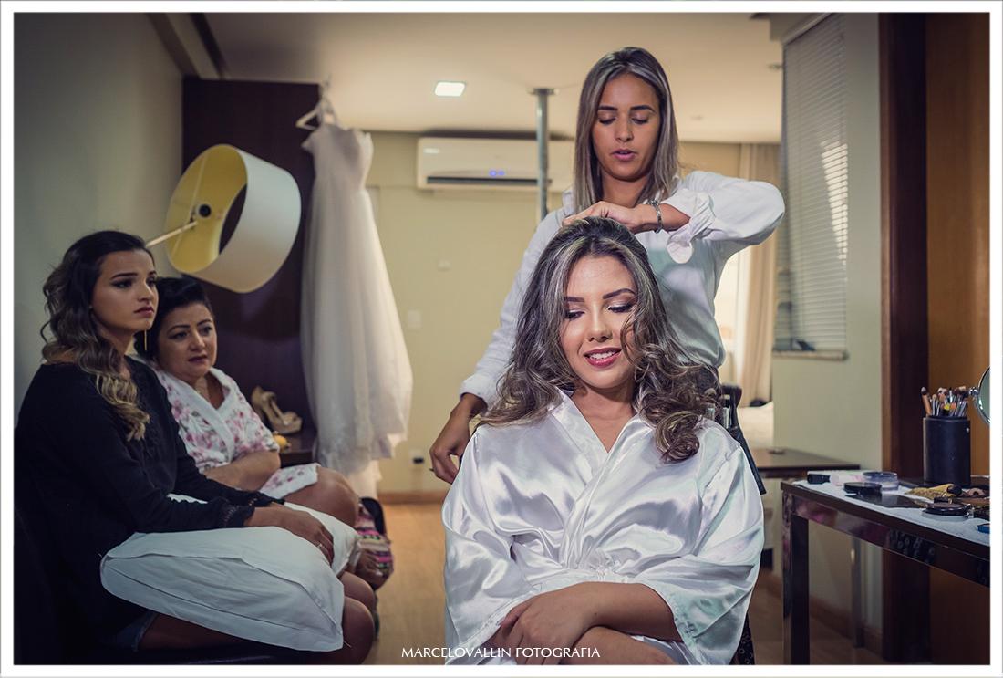 Fotografia de Casamento RJ - Cabelo e Maquiagem