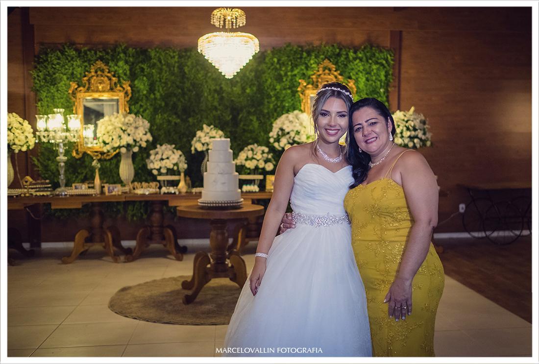 Foto da Noiva com sua mãe