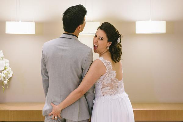 Mini-Wedding de Mayra e André | Os Lindezos