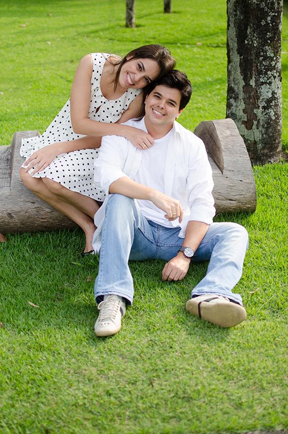 Rafaela Pinho e Leandro Moreno