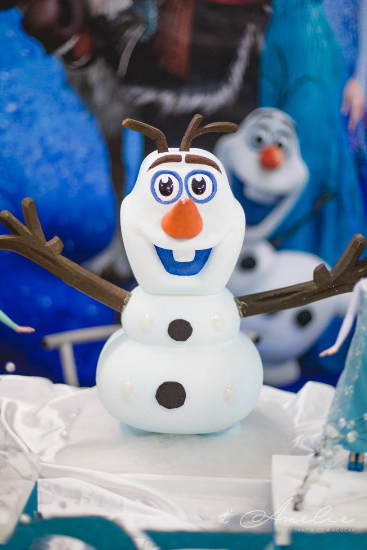 Olaf festa da Frozen