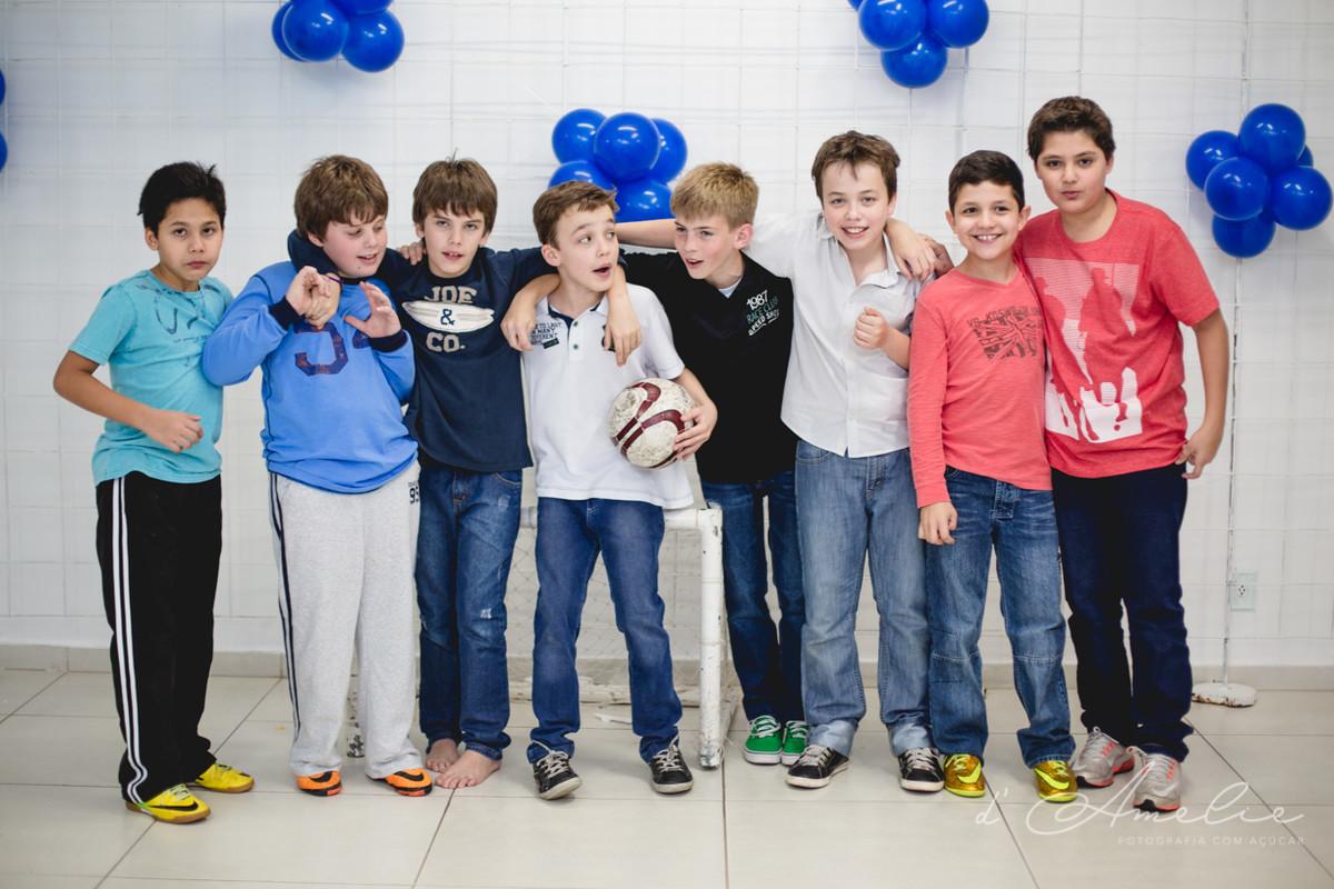 futebol em festa infantil
