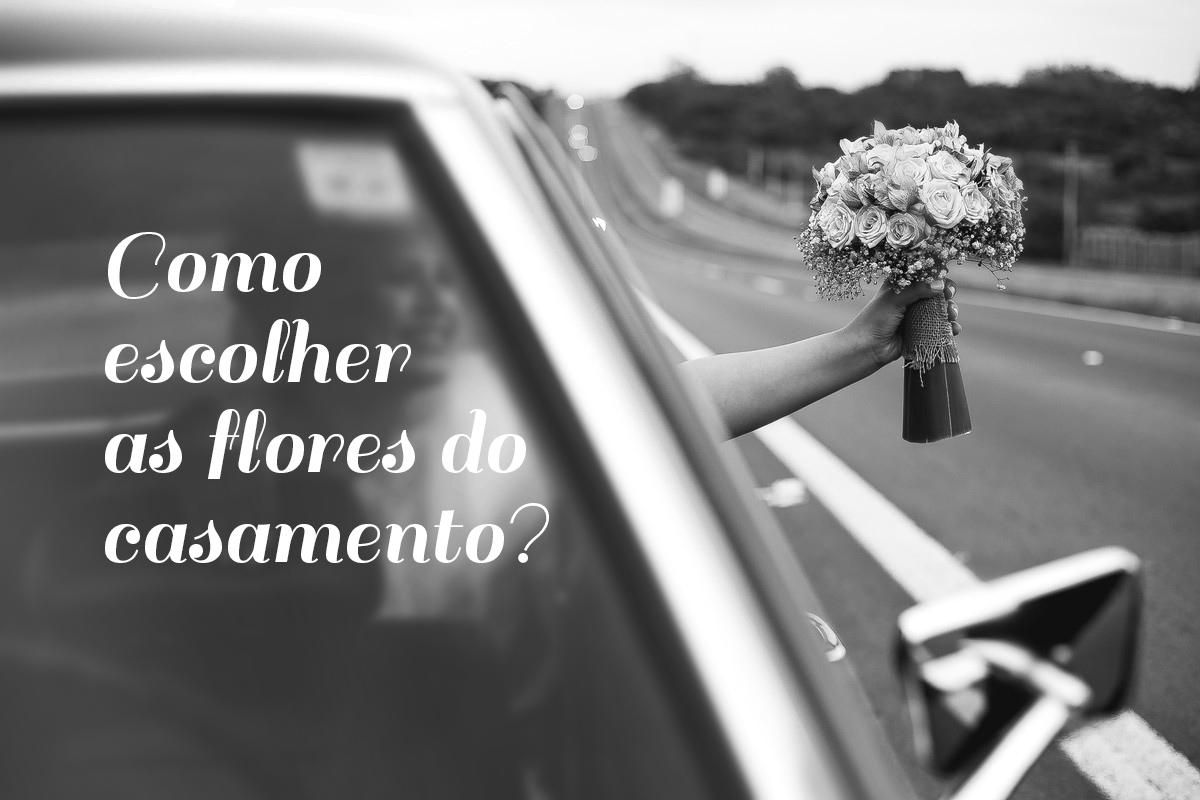 Como escolher as flores do casamento