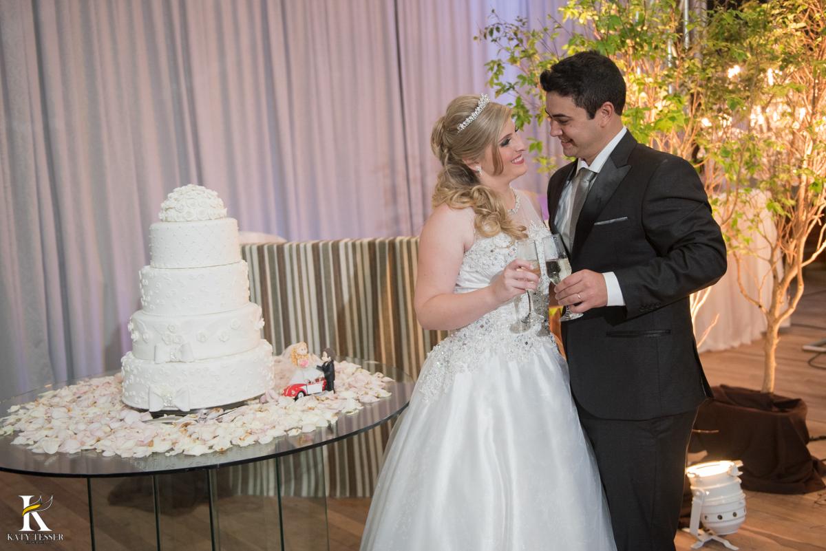 festa de casamento parana brinde dos noivos com os pais em coronel vivida fotografo katy tesser