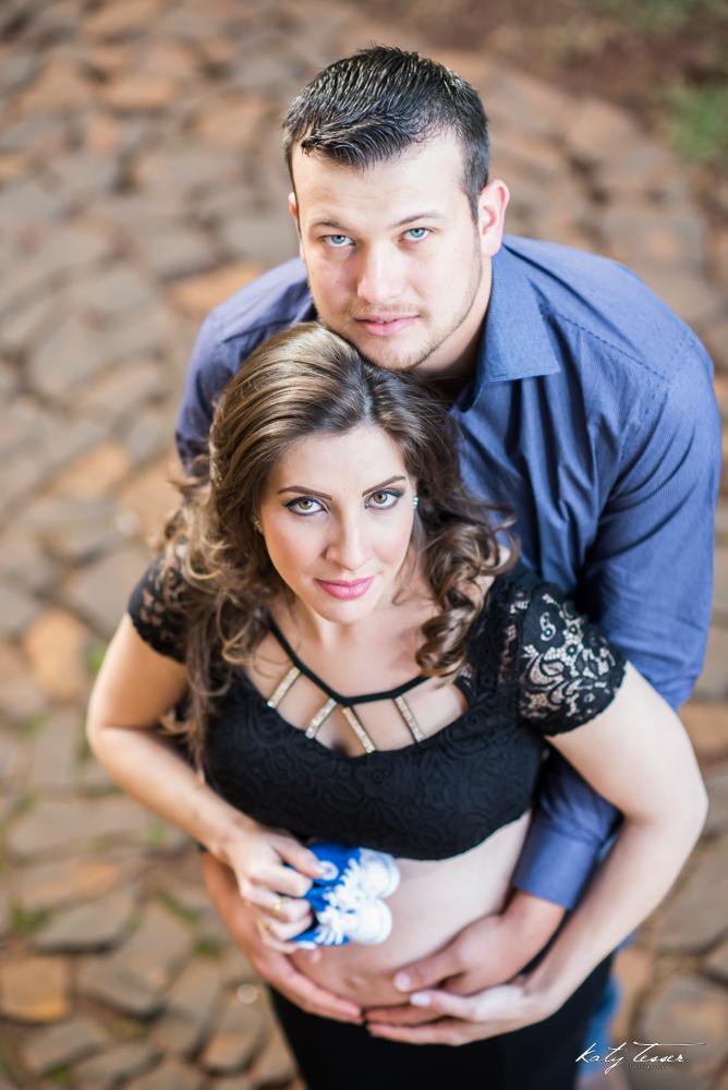 Foto de Anelize e Tiago