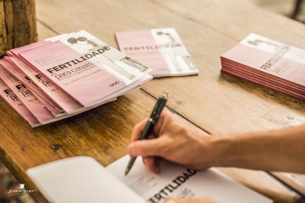 Corporativo de Lançamento do Livro Fertilidade para casais