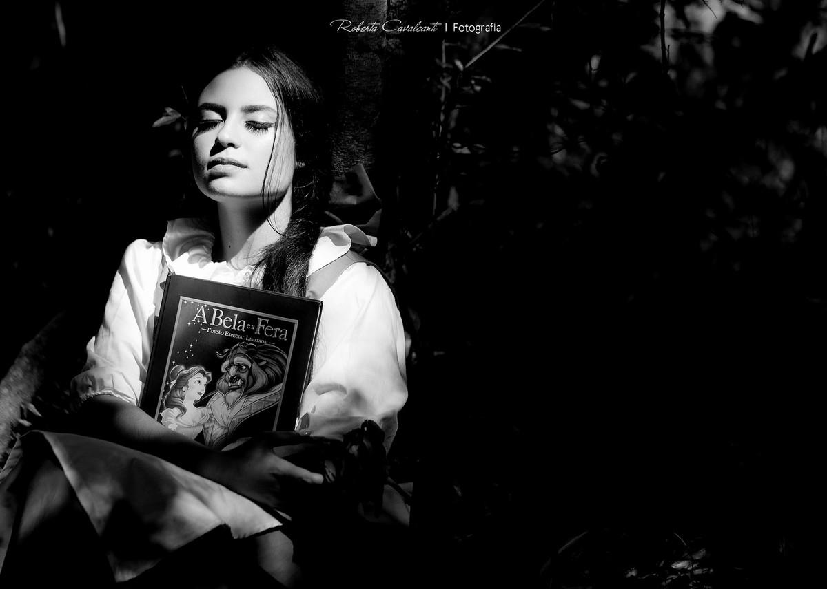 """Foto de Ensaio """"Pré 15 anos"""" Beauty and the beast"""