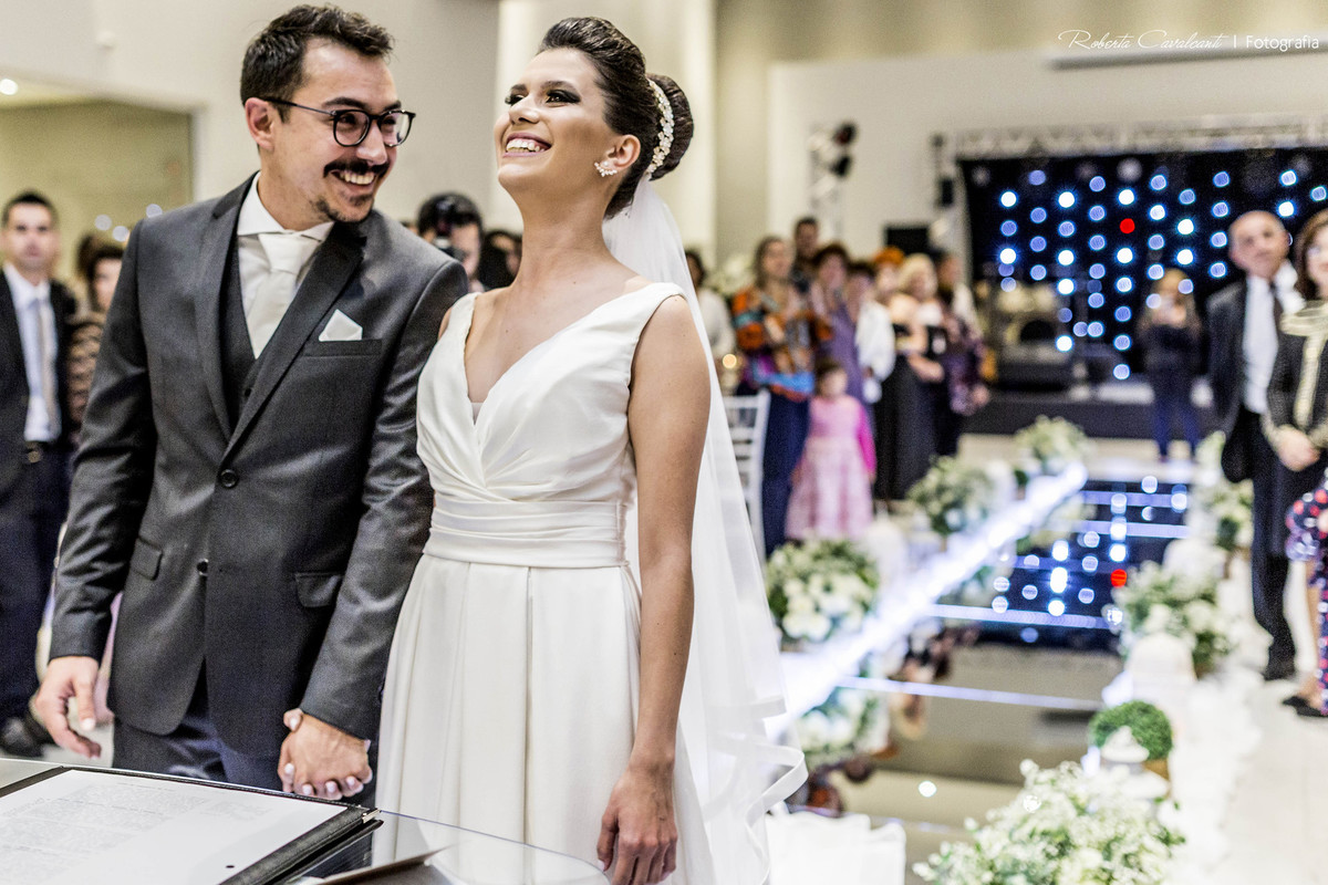 Foto de Bárbara e Rafael