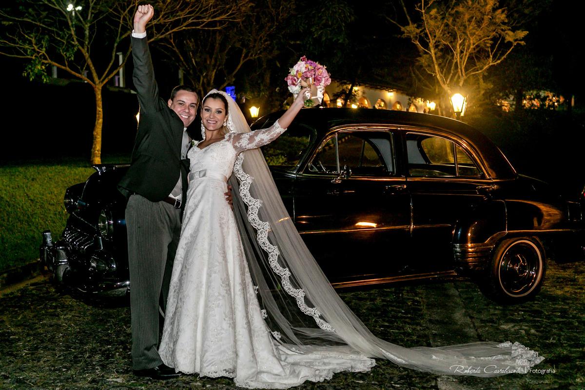 Foto de Marcela e Rodrigo