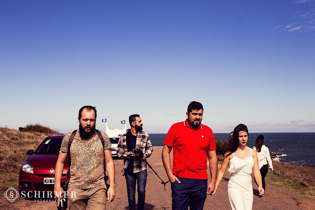 equipe fotografia em punta del este uruguay fotografando casal pre casamento